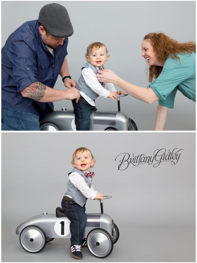 First Year Portrait | One Year Old | First Birthday | 12 Months | Start With The Best | Brittany Gidley Photography LLC