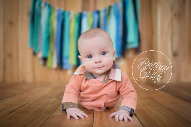 Baby Photographer | 6 Month Baby | Start With The Best | Brittany Gidley Photography LLC | Inspiration