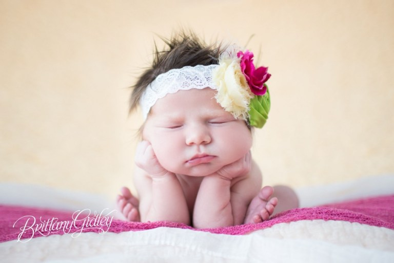 Best Newborn Photographer | Froggy Pose | Newborn Photography | Natural Light | Start With The Best | Brittany Gidley Photography LLC