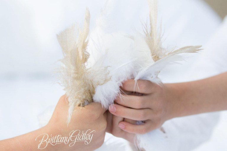 Gold Dipped Feathers | Gold | Feathers | Photo Shoot
