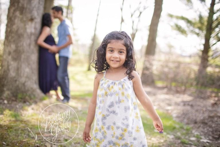 Cleveland Maternity Photographer | Maternity Portraits | Holden Arboretum