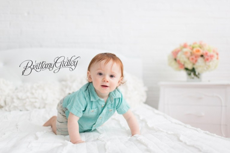 Whimsical Baby Photography | Top Baby Photographer in America | Brittany Gidley | Cleveland's Best Florist Heatherlily | Studio | Natural Light | Inspiration