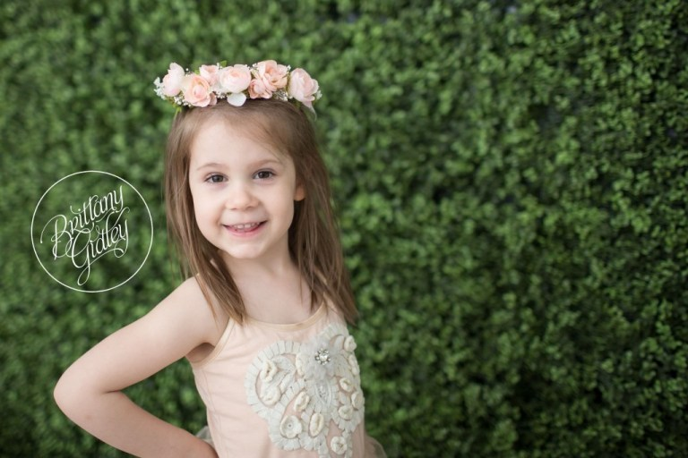 Dream Sessions | Whimsical Child Photography | Heatherlily | Fresh Floral | Props | Styled Session | Rainey's Closet | Tutu Du Monde | Studio | Inspiration | Cleveland Ohio | Best Photographer Cleveland | Flower Wall | Halo