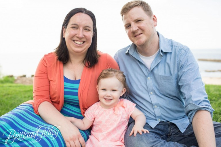 Family Portrait Photographer | Cleveland Family Pictures | Start With The Best | Brittany Gidley Photography LLC