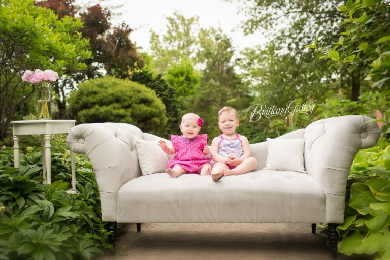 Secret Garden Dream Session | Sisters | 9 Month Baby | 2 Year Old Toddler | Fantasy Photo Shoot | Cleveland