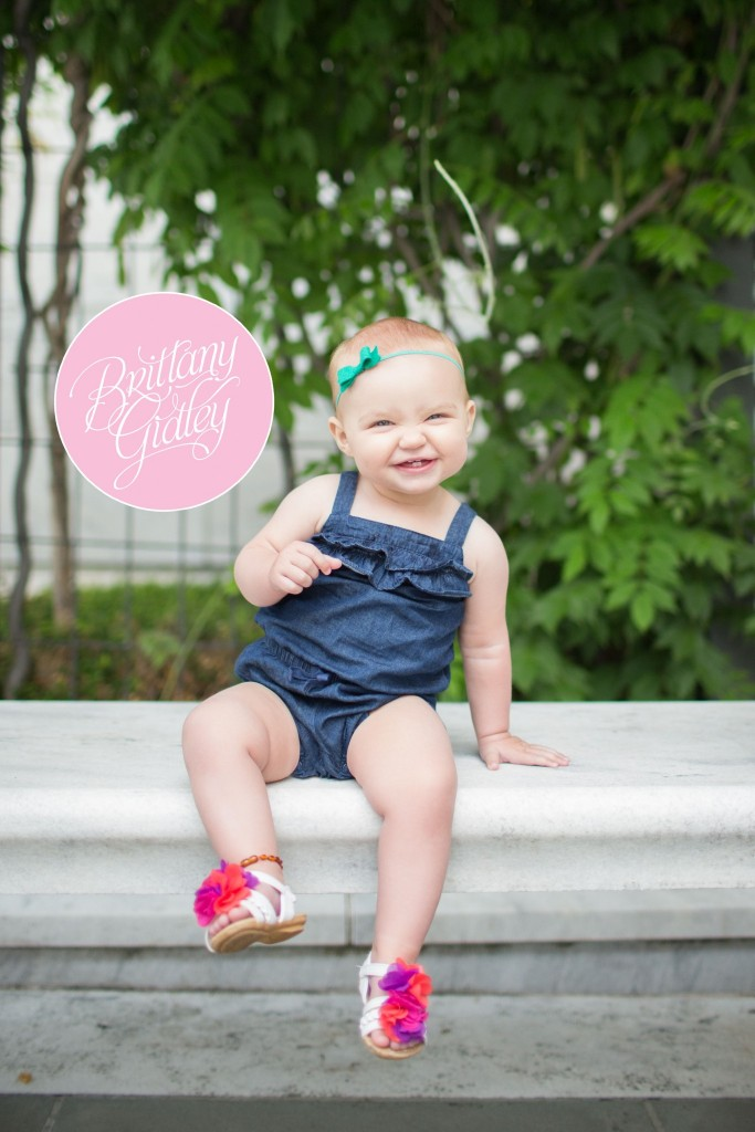 Family Photography | Family Portraits | Baby Pictures | Cleveland Museum of Art | Brittany Gidley Photography LLC | 12 Months