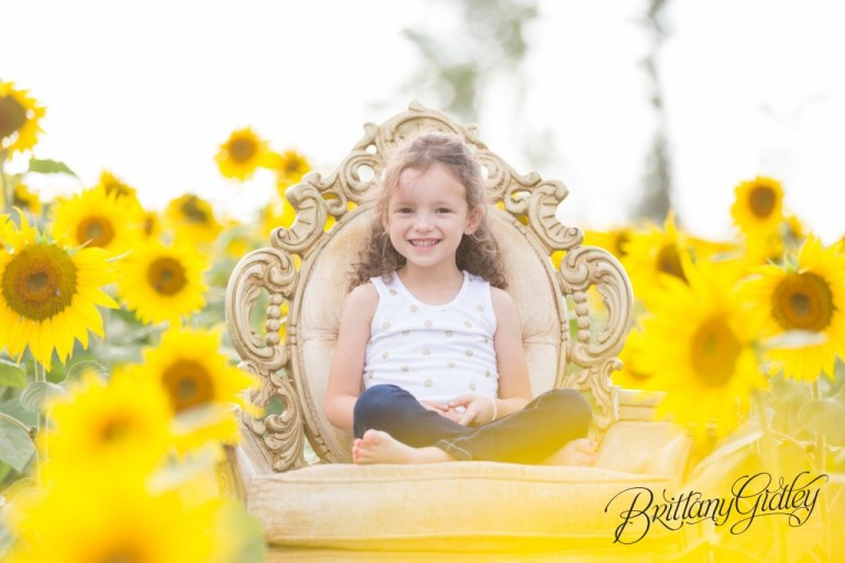 Fall Photo Shoot | Brittany Gidley Photography LLC | Sunflowers