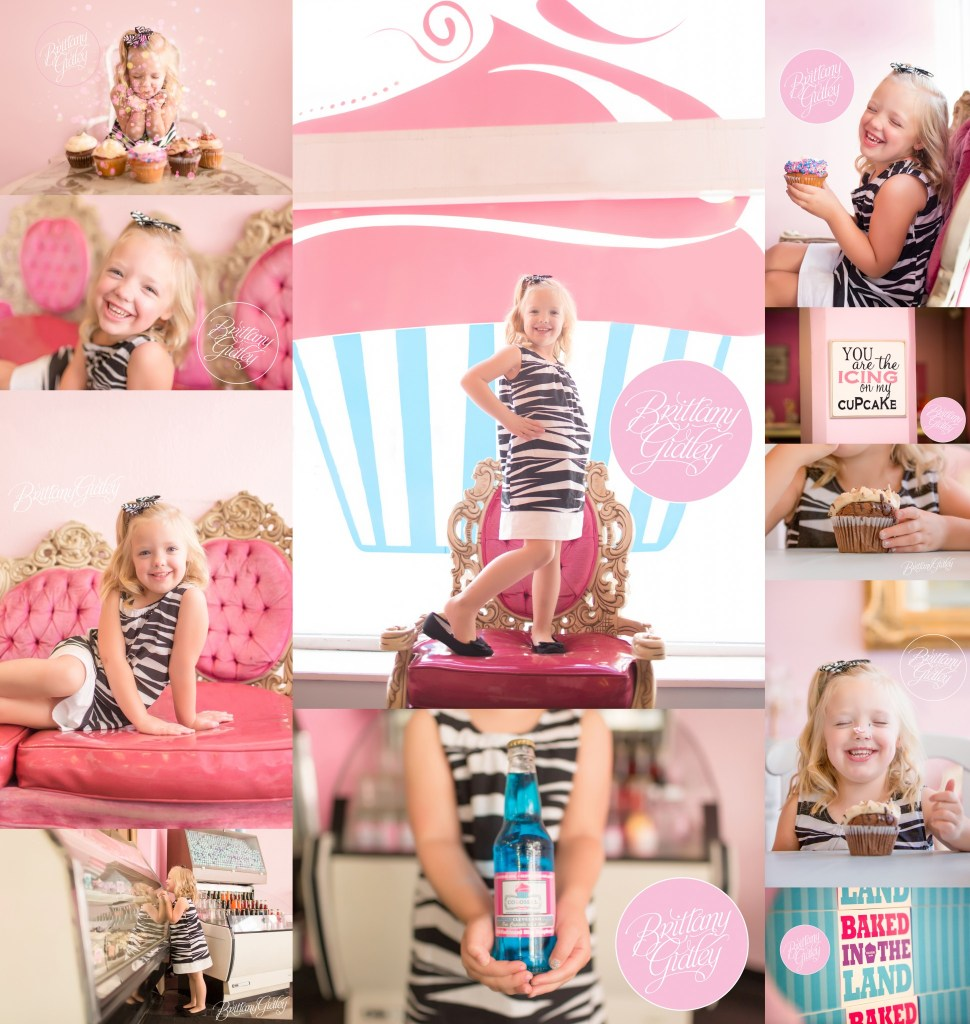 Colossal Cupcakes | Julia is 5!