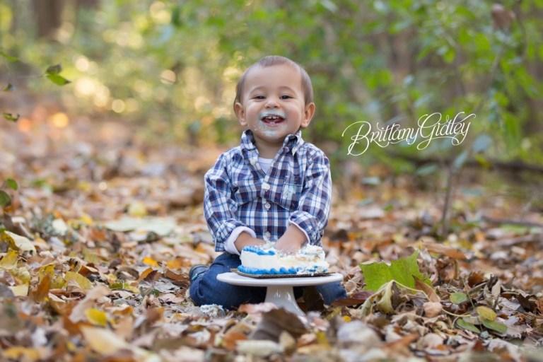Fall Cake Smash