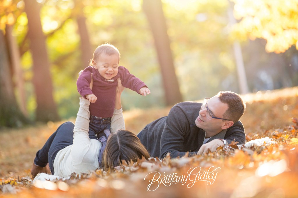 Cole 12 Months | Fall Family Photography | Shaker Lakes