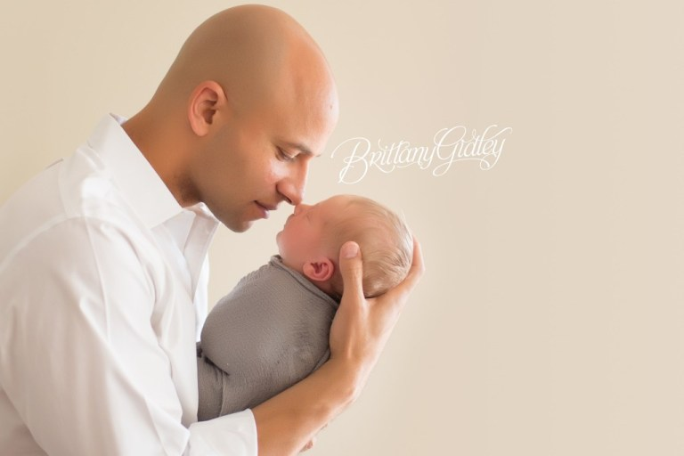 Lifestyle Newborn Photos | Father and Son