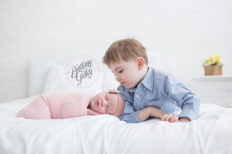 Cleveland Newborn Photographer | Toddler Newborn Poses | Cleveland, Ohio | Best Newborn Photographer