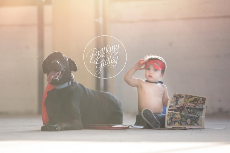 Superhero Session | Brittany Gidley Photography LLC | Start With The Best | Cleveland Baby Photographer | Baby Photography