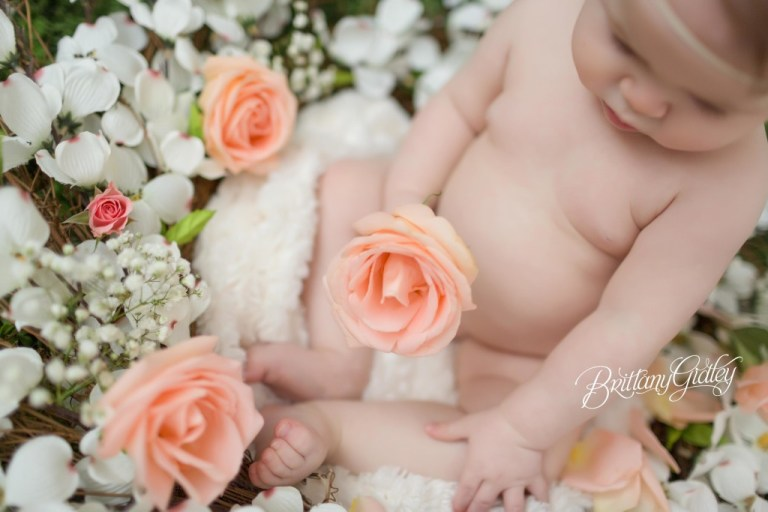 Magical Baby Portraits | 6 Month Baby | 6 Month Milestone Session | Baby Girl