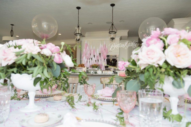 Ladies Who Brunch | Styled Session | Pink | Brunch | Kelsey Elizabeth Cakes | Sweet Flo's Candy | One Stylish Party | Inspired