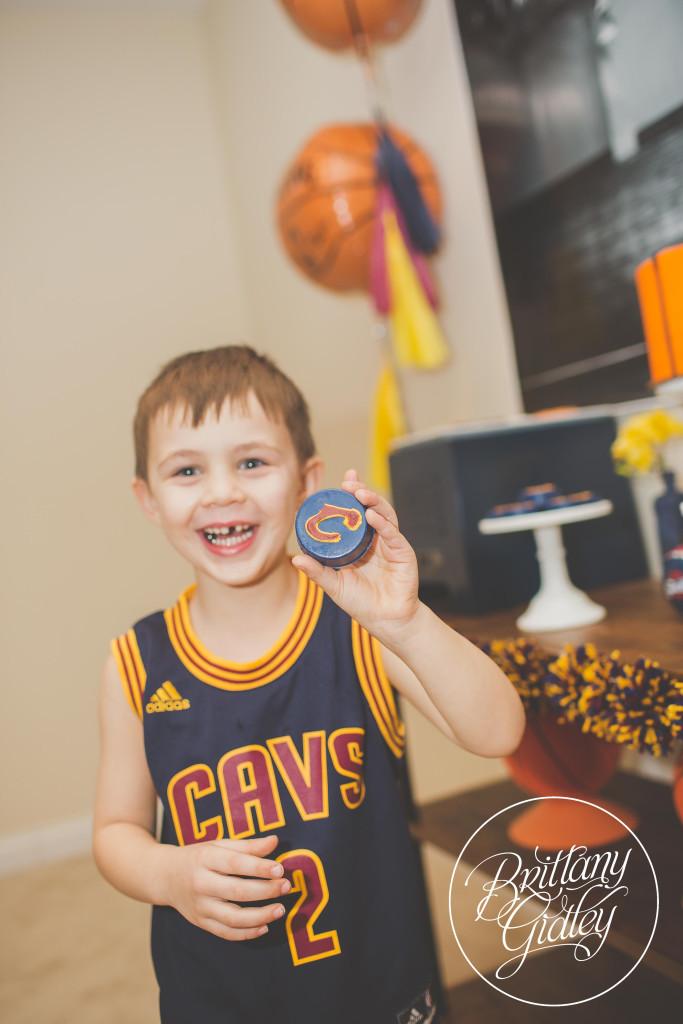 Cleveland Cavaliers | One Stylish Party | Kelsey Elizabeth Cakes | Basketball Themed Birthday Party