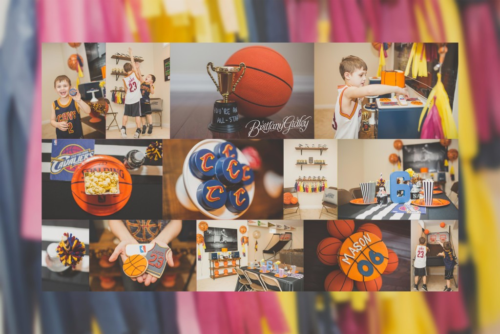 Cleveland Cavaliers (and CAKE!) | Basketball Themed Birthday