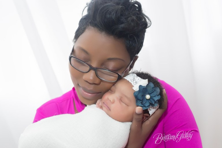 Mother & Baby | Newborn Baby Girl | Cleveland Newborn Photographer | Start With The Best