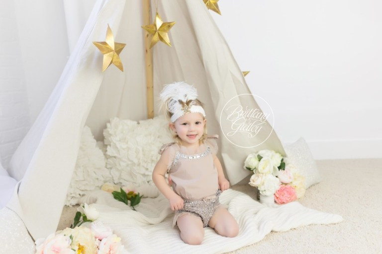 Whimsical Child Photographer | Teepee | Photography Mentoring | Starry Night | Rainey's Closet | Start With The Best | Cleveland Ohio