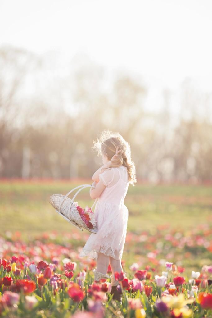 Tulip Field   Children   Golden Hour   Photo Shoot   Sunset   Canon