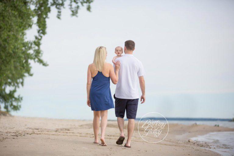 Beach Baby | Marblehead Ohio | 6 Months