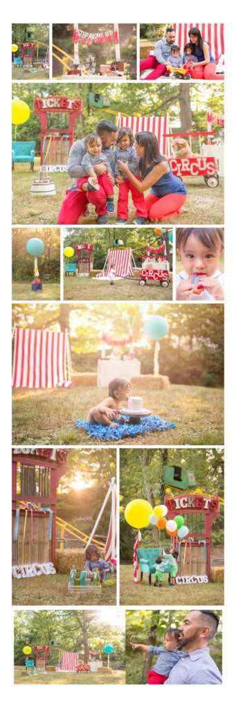Circus | Circus Dream Session | Circus Theme Photo Shoot | Circus Cookies | Baby Photographer | Baby Photography | Brittany Gidley Photography LLC