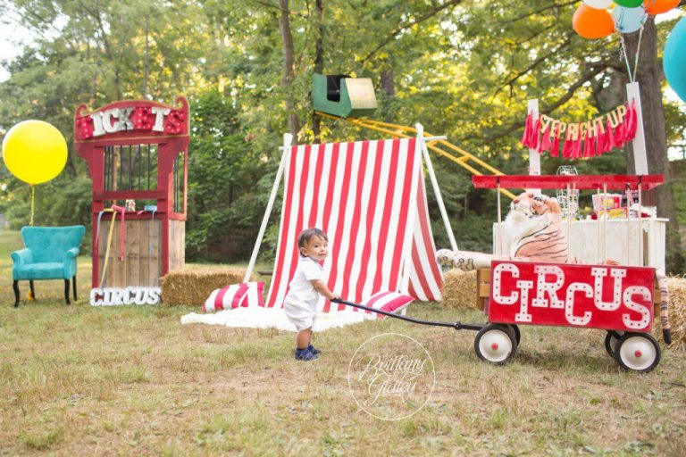 Circus | Circus Dream Session | Circus Theme Photo Shoot | Family | If I Ran The Circus | Dr Suess | Baby Photographer | Baby Photography | Brittany Gidley Photography LLC