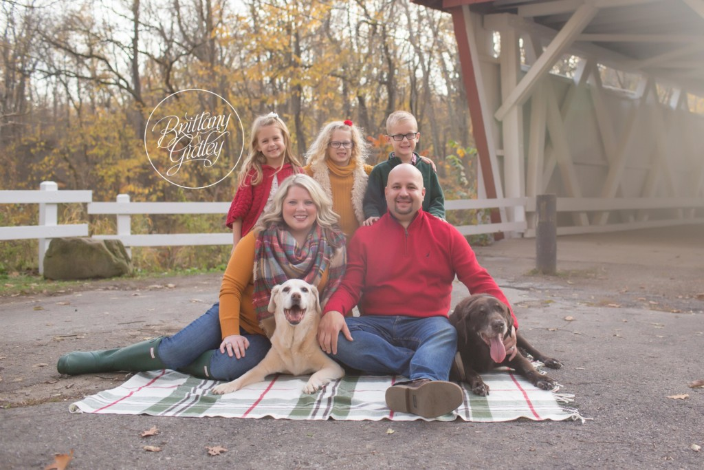 Everett Road Covered Bridge | The Edelman Family Joy Session