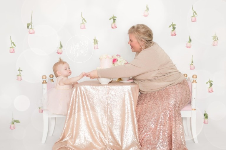 Tea Party Whimsical Baby Photography | Dream Session