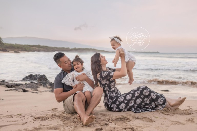 Brittany Gidley Photography | Hawaii Baby Photography | Big Island Baby Photographer | Hapuna Beach | Sunrise
