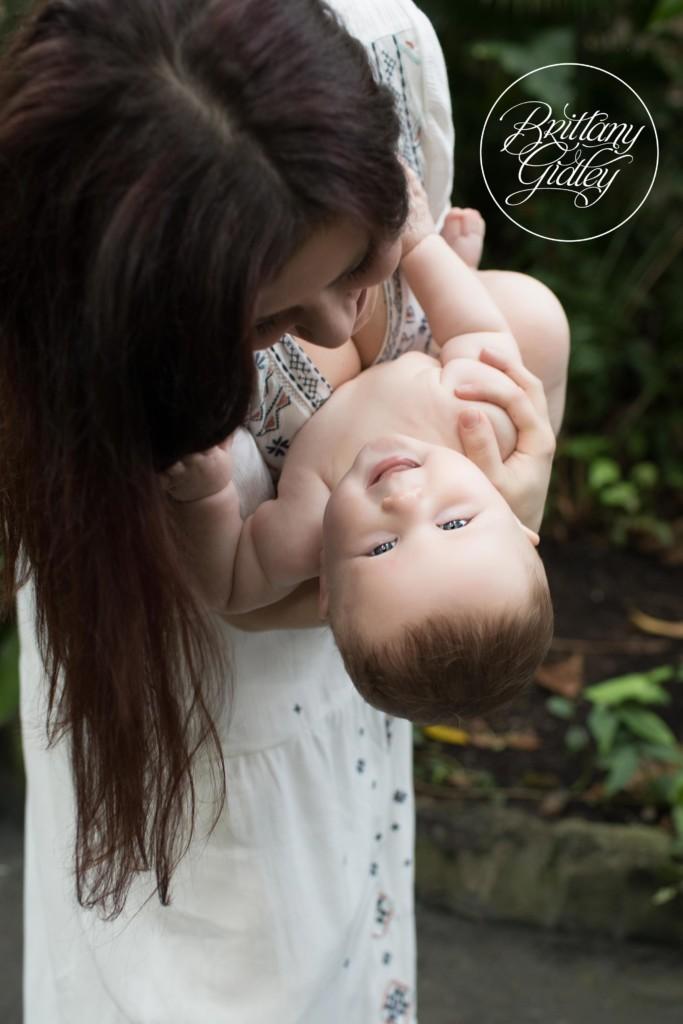 Cleveland Botanical Garden | Baby Photographer | Baby Photography | 6 Month Baby | Garden Baby Photography | 6 Months Old