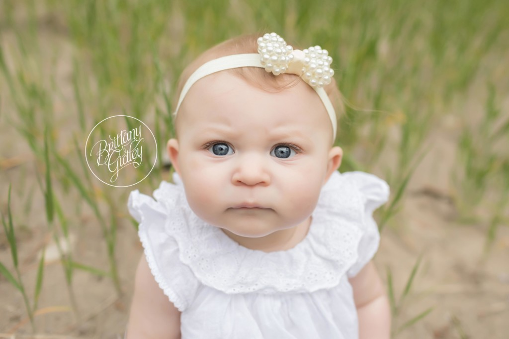 Beach Photographer | Ellie 6 Months | Mentor Headlands Beach