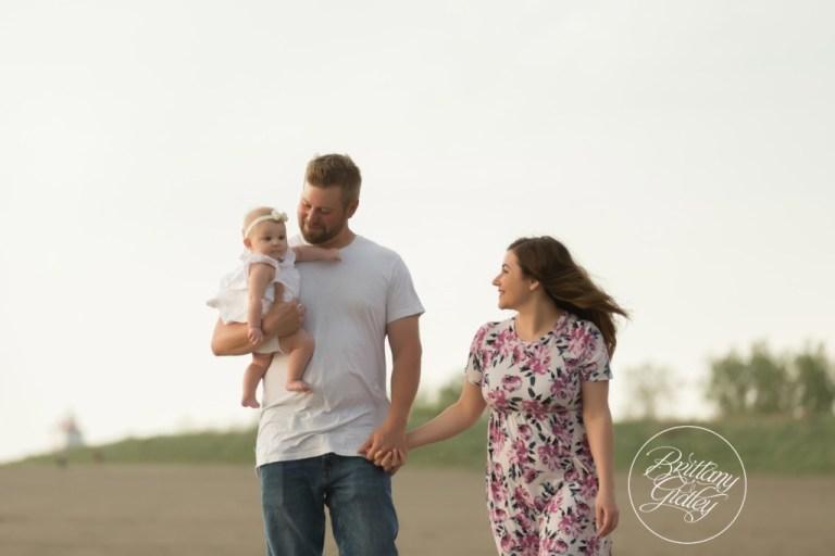Beach Photography | Beach Baby | Family Photo Shoot | Mentor Headlands Beach
