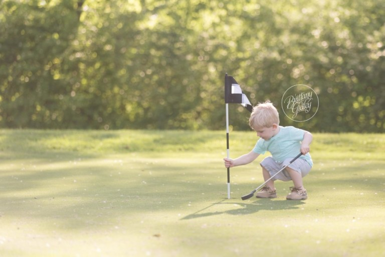 Golf Pictures Kids | Tee Time Dream Session | Family Photographer | Golf Pictures