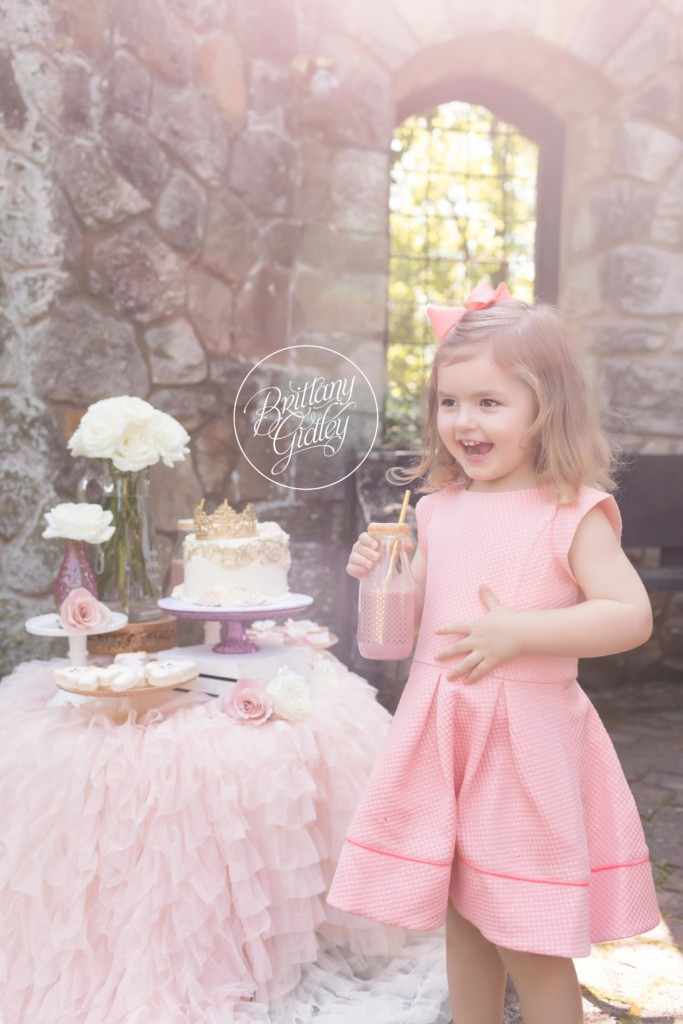 Princess Photo Shoot | Secret Garden | Blush White Dessert Table | One Stylish Party | White Flower Cake Shoppe