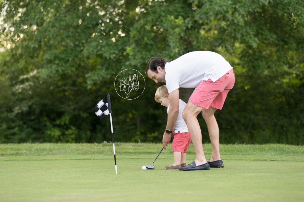 Hole In One Golf Dream Session | Golf Photo Shoot Inspiration | Henry 2 Years