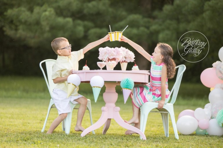 Ice Cream Dream Session | Ice Cream Party | Ice Cream Themed Photo Shoot | Dream Session | One Stylish Party
