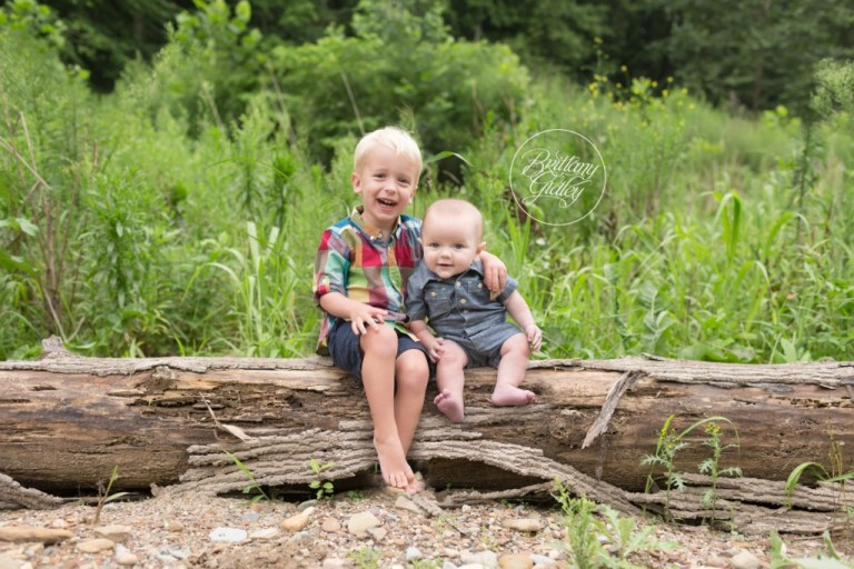 Cleveland Metroparks Brecksville Reservation | Brothers | Creek Photoshoot