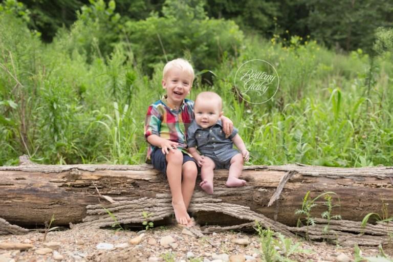 Cleveland Metroparks Brecksville Reservation | Brothers | Creek Photoshoot