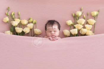 Floral Newborn Dream Session | Introducing Lily