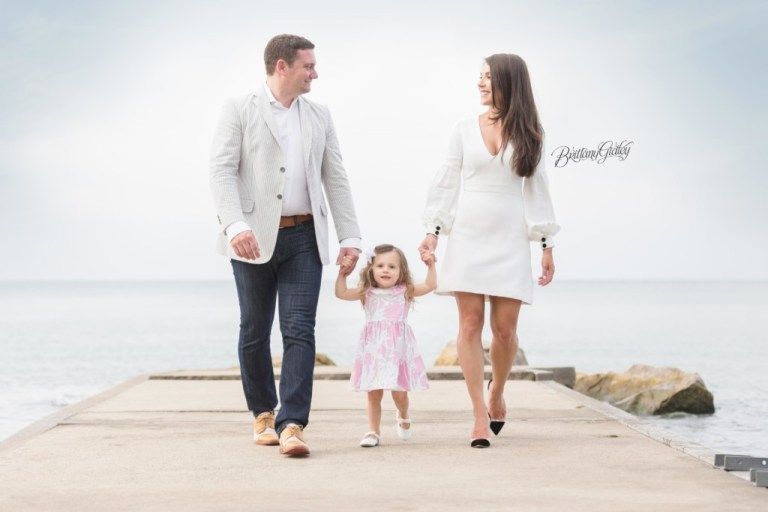 Toddler Photographer | Toddler Photography | 2 Years Old | Lake Erie Family Session | Start With The Best | Brittany Gidley Photography LLC