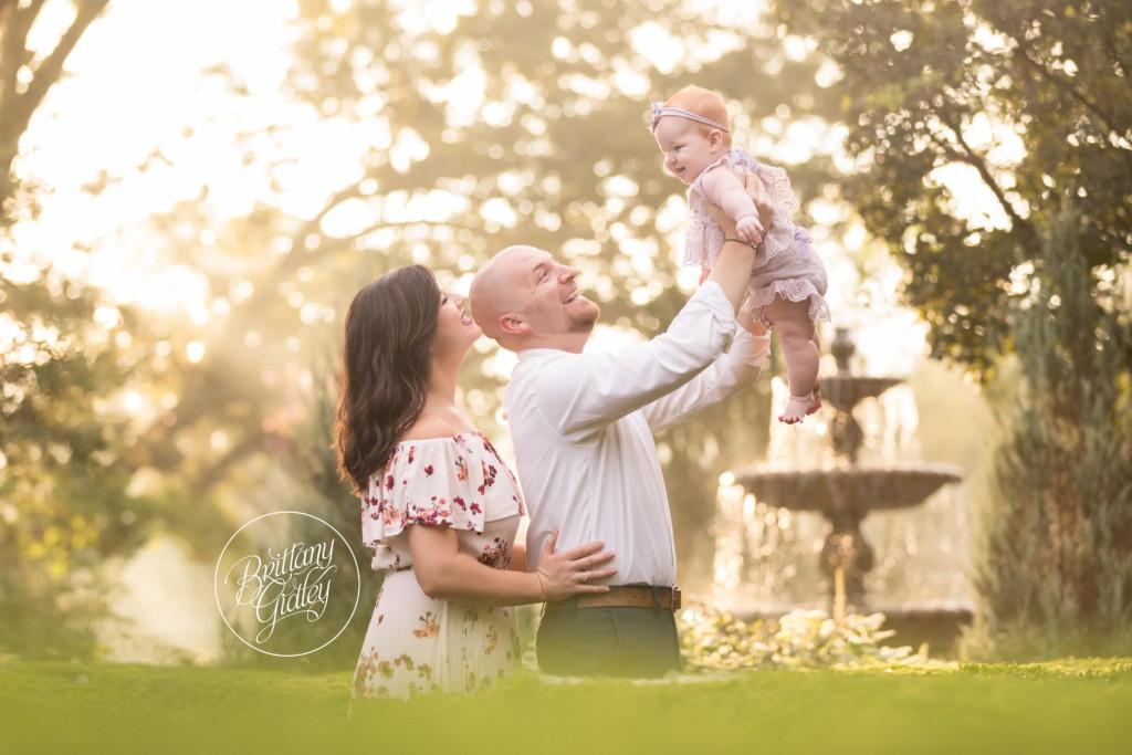 Atlanta Baby Photographer | Harper 6 Months | Barnsley Gardens