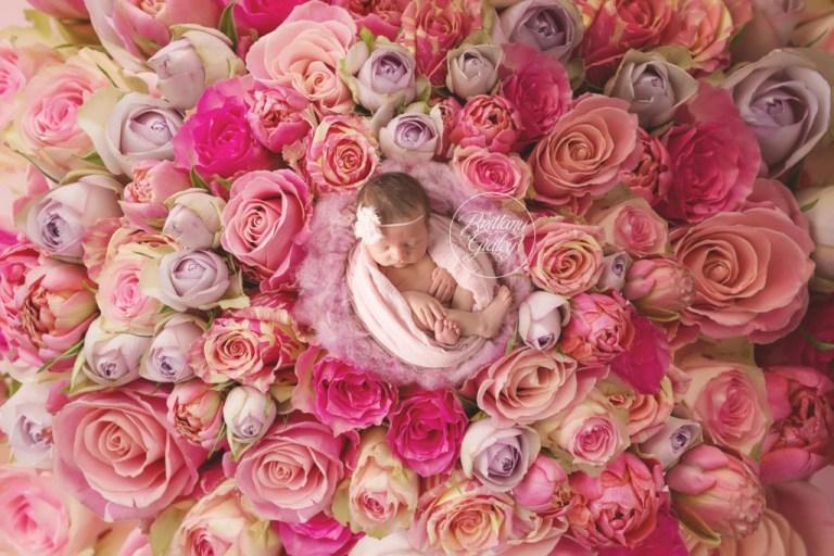 Floral Newborn   Start With The Best   Newborn Baby Girl   Girly Newborn Images