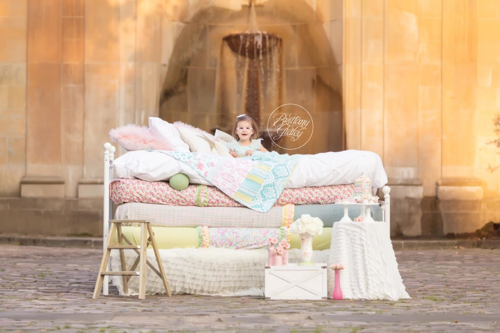 Princess and the Pea Dream Session | Julianna 2 Years | Cultural Gardens