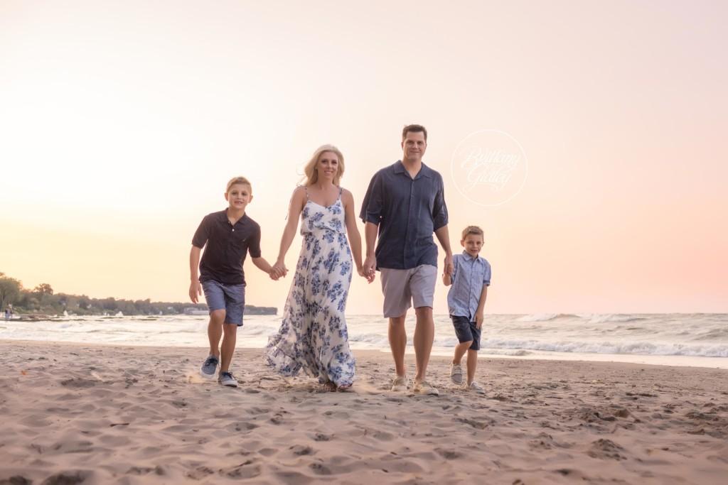 Rocky River Family Photographer | The Berger Family | Huntington Beach