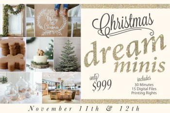 Holiday Mini Sessions Are Booking NOW!