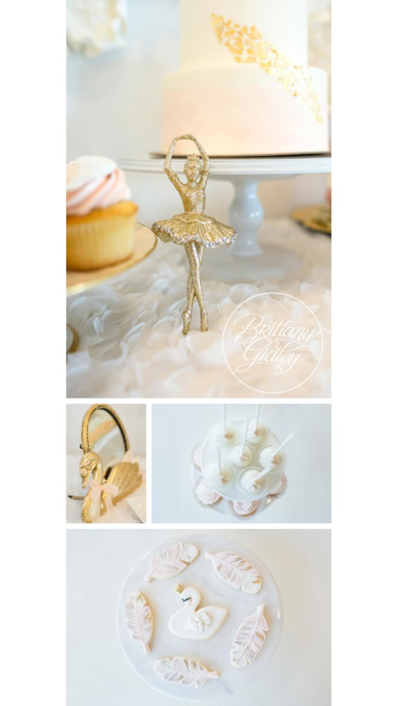 Swan Queen Birthday | Pink & Gold Party Details | Girly Birthday Party Ideas