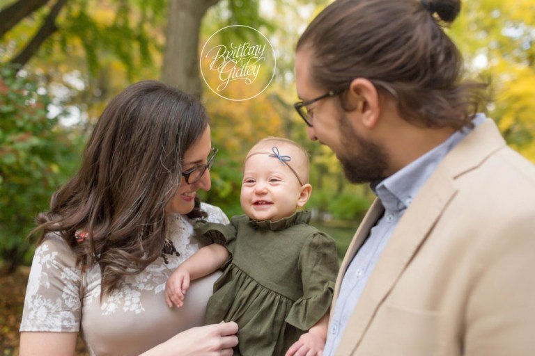 Cleveland Heights Baby Photographer | Rosalind 12 Months | Cultural Gardens
