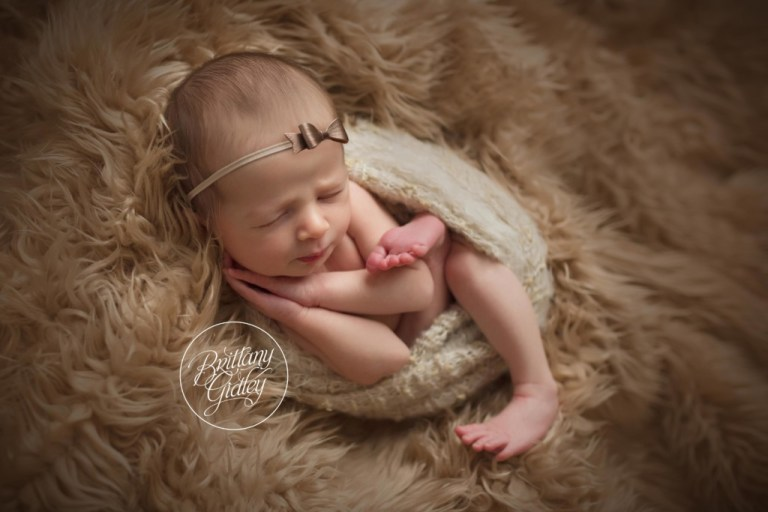 Newborn Wrapping | Neutral Newborn Session For Girls