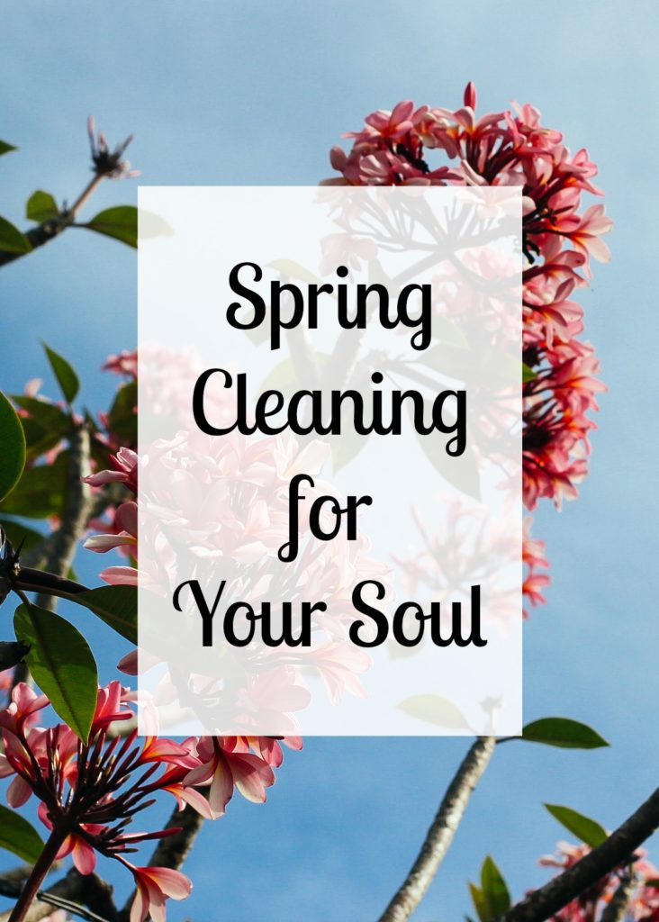 In need of some spring cleaning for the dusty parts of your soul? Start by taking stock of what you have. | TheNestedNomad.com
